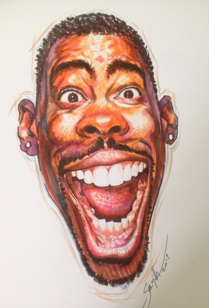 Chris Rock par Tonio